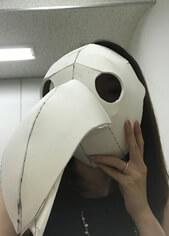 ペストマスク 作る